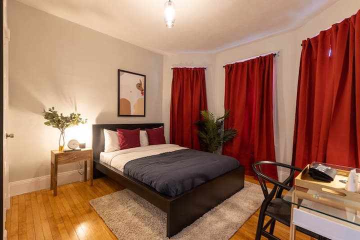 Fully-Furnished Room in Upham's Corner Location