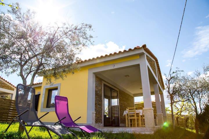 Casas do Paço - Casa Amarela - Arco de Baúlhe