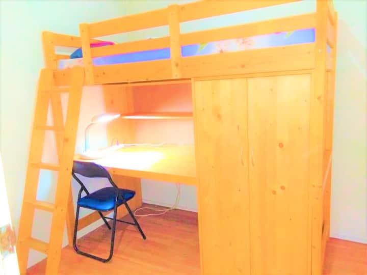 prewar2 loftbed room1 > lavender MRT