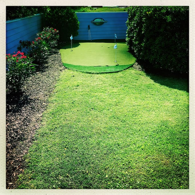 Conscience Course (personal putting green)