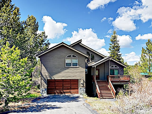 Nestled in desirable Tahoe Donner, this home is the ultimate mountain retreat.