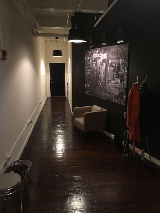 Hallway/Front Door.