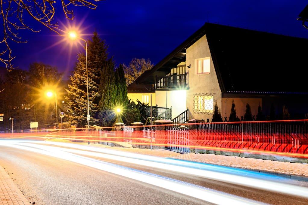 Front of Ski Villa