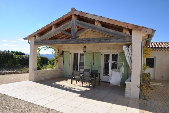 Tasteful holiday home with annexe in a beautiful location with private pool