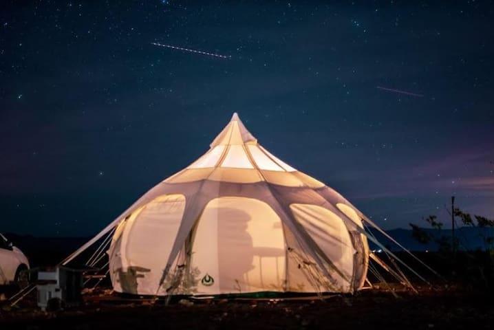 Star Gazing Yurt Near JTP With Winter Heater!