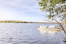 Rent the on-site pontoon boat for an additional fee!