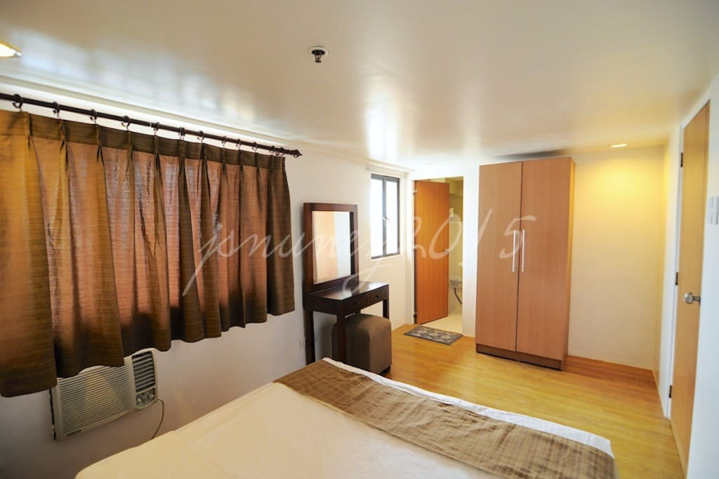 master bedroom with 1T&B