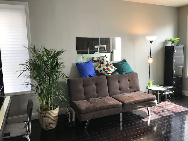 Private Room  in Hamilton Hts (Full Bed & Desk!)