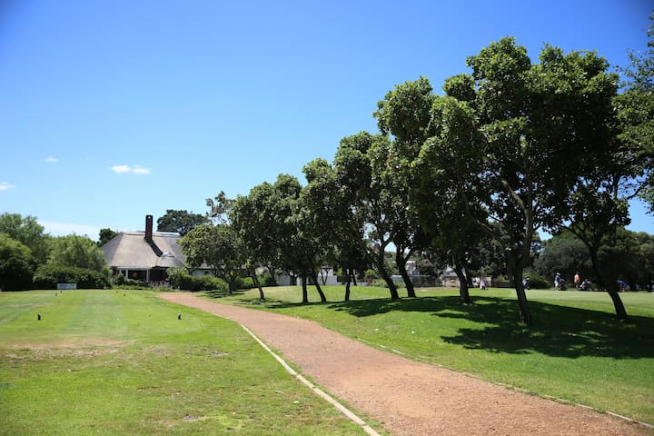 House at Golf Course