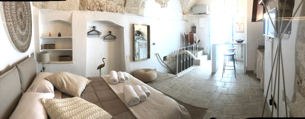 DESIGN STUDIO IN THE OLD TOWN OF OSTUNI