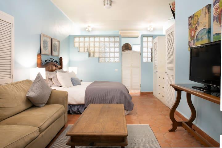 Bedroom 4 Queen bed and pull out queen sofa with en suite bathroom
