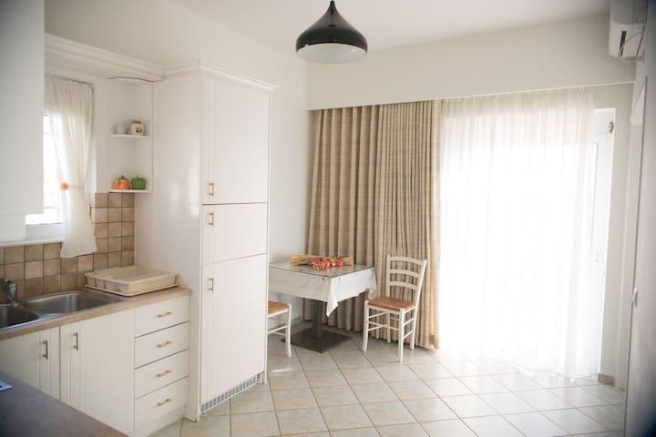 Διαμέρισμα στο Πλωμάρι - Apartment in Plomari - Plomari - Leilighet