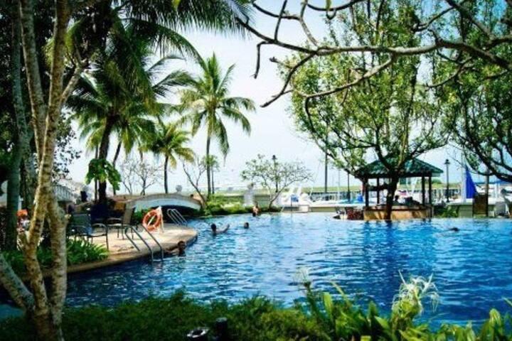 PD Romantic Relaxing Retreat Stay 波德申 海中天帆船游艇俱乐部酒店