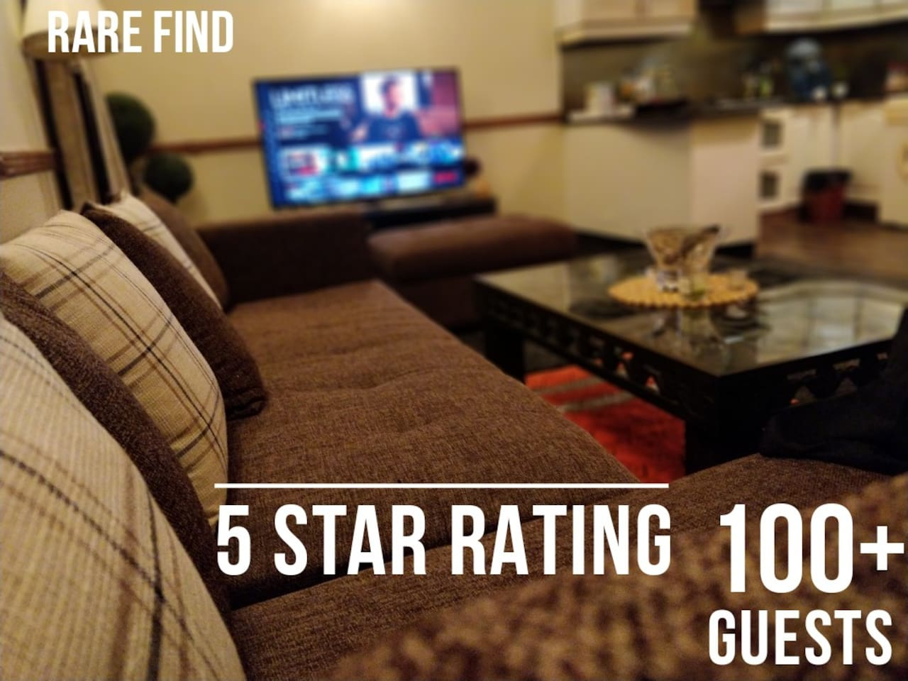 With hosting experience of 100+ guests and counting