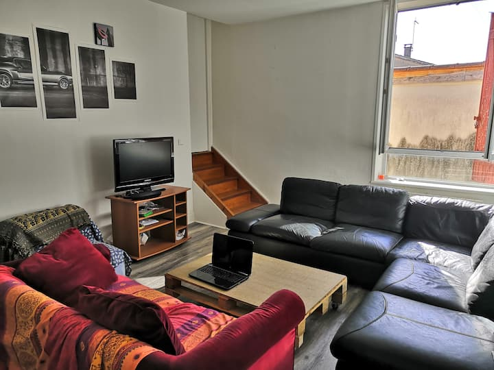 Grand Appartement en plein coeur de Villefranche