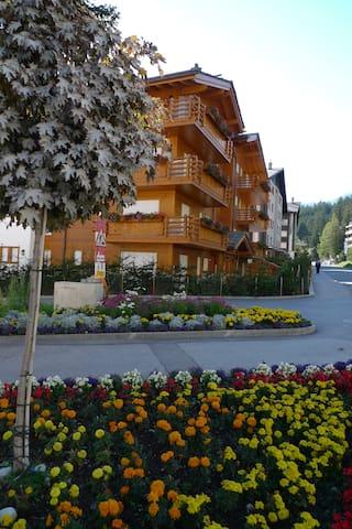 Crans-Montana, Les Paquerettes, Switzerland,