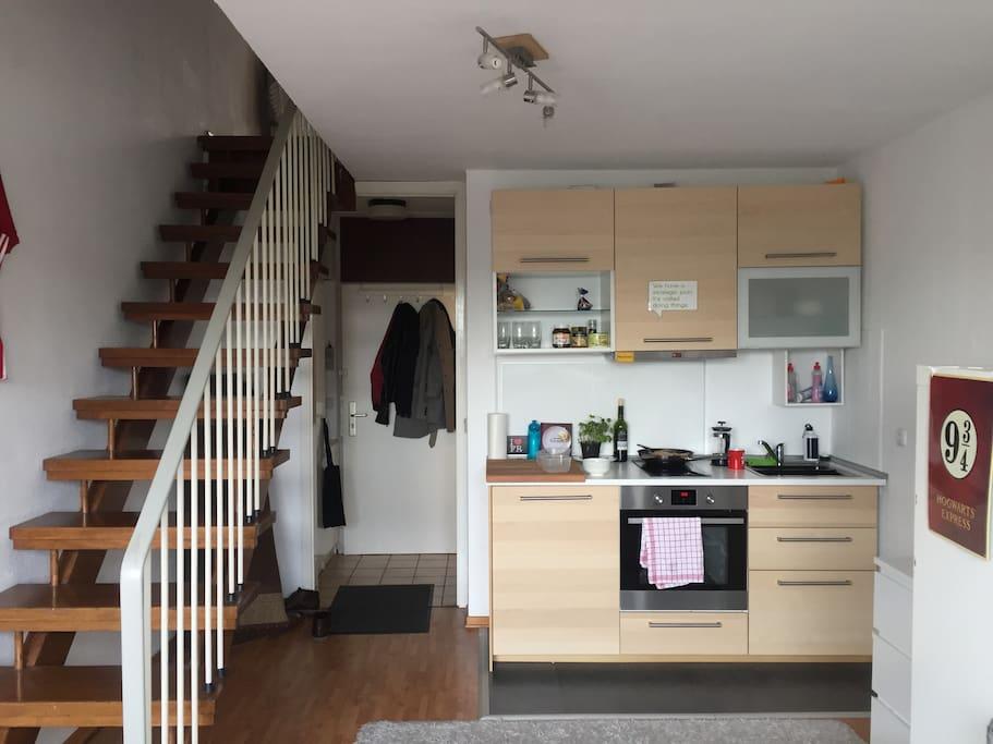 loft apartment in cologne wohnungen zur miete in k ln nordrhein westfalen deutschland. Black Bedroom Furniture Sets. Home Design Ideas