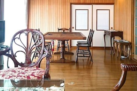 貸切ゲストハウス 足利市・観光・出張・同窓会・家族・友達・素泊まり・台所 洗濯機 Wi-Fiあり!