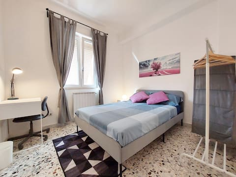 ROME CENTER at 12 min-Confortable and bright room