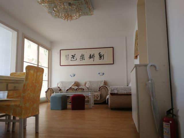 海阳万米海滩浴场连理岛家庭度假首选