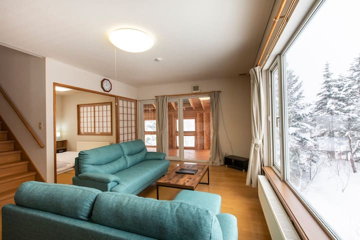 Moiwa 3Bdrm Vacation Home; long stay available