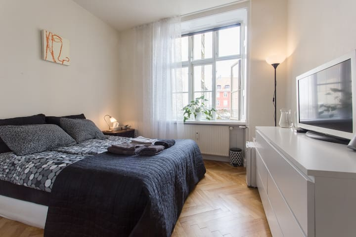 Wonderful room - VERY CENTRAL! - Kopenhagen - Wohnung