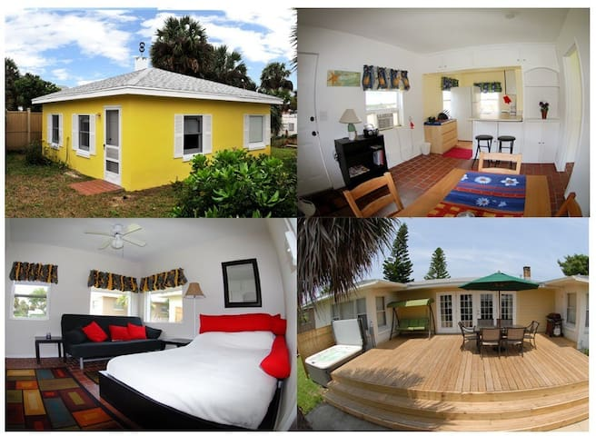 Little Yellow Cottage - Daytona Beach - Cabaña