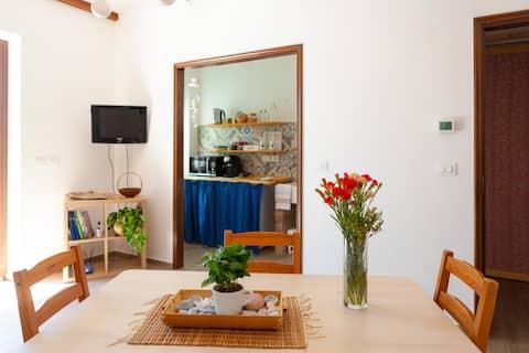 Apartamento independente no campo, La Casa Rosa