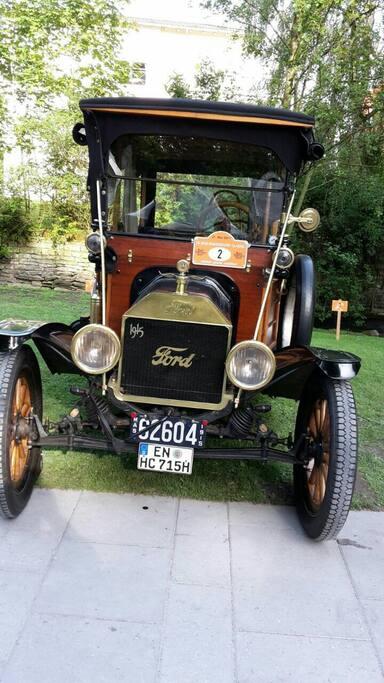eines meiner vintage cars