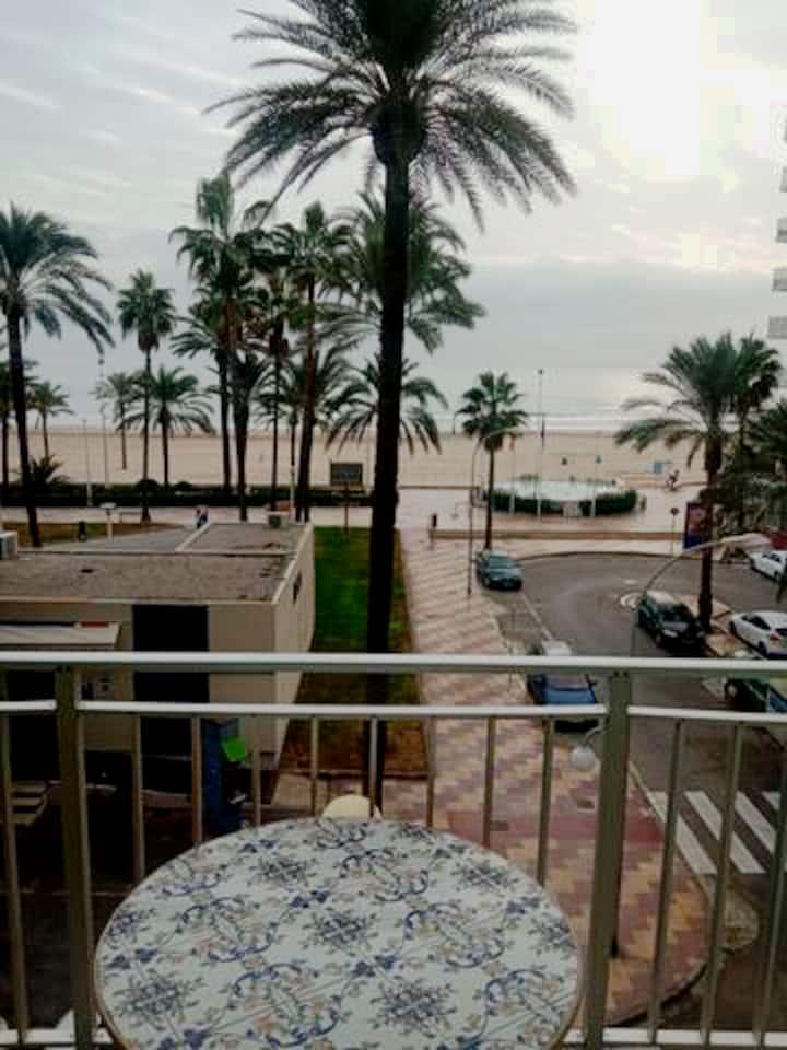 Apartamento Cullera con vistas al mar