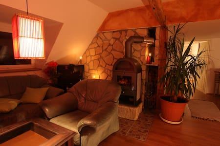 idyllisches Gästezimmer mit Kamin - Dresden - Rumah