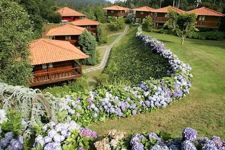 Abrigo de Montanha3 natureza e você - 산타크루즈 - 단독주택
