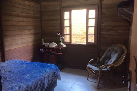 GreenHouse, simple organic house - Florianópolis - Haus