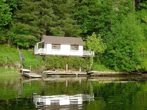 Private Waterfront cabin Quadra Is.