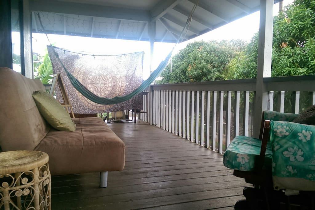 Hammock to relax in :)