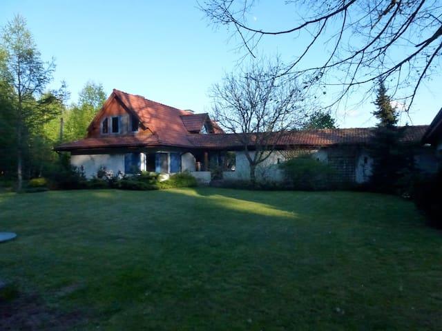 Beautifully located  holiday house. - Górzno - Huis