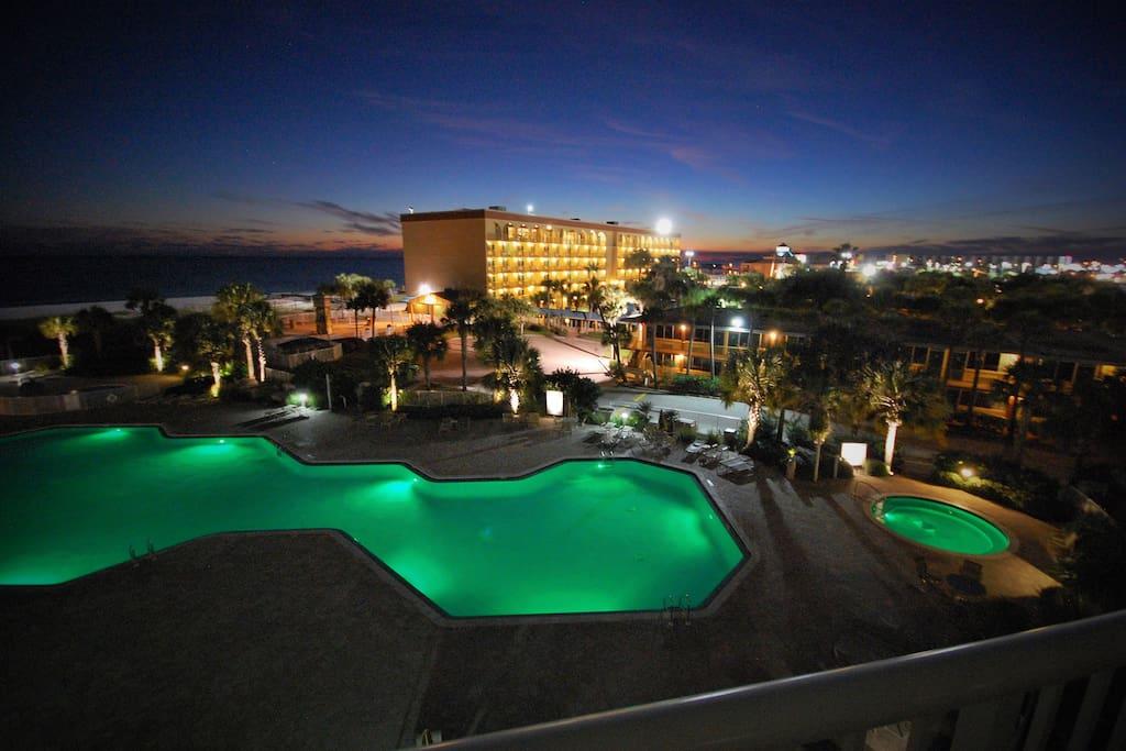 Destin West Gulfside #411: Balcony View