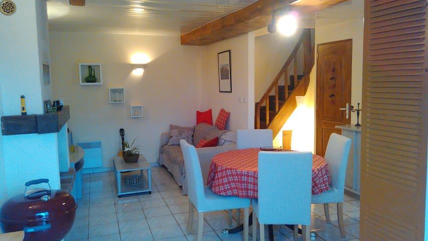 """Gîte de la Planche """"Le petit nid"""" - Mozé-sur-Louet - อพาร์ทเมนท์"""