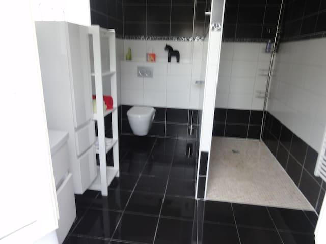 Chambre sanitaire privée auxonne maison neuve - Auxonne - บ้าน