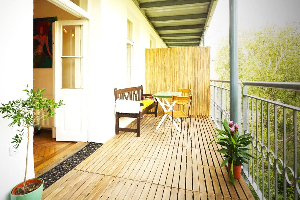 Chill out on your private, calm Terrasse!