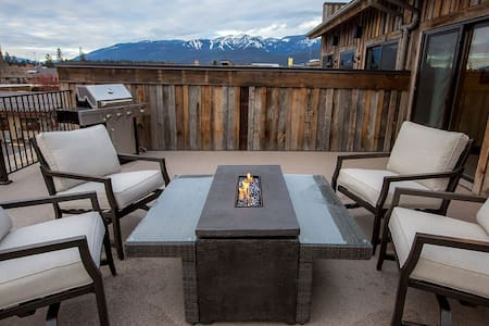 New Downtown Whitefish Penthouse! - Whitefish - Appartement en résidence