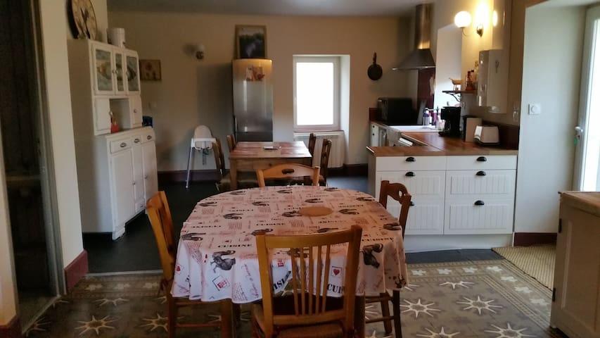 Gite de Tante Jeanne Ambiance cosi - Peaugres - Rumah
