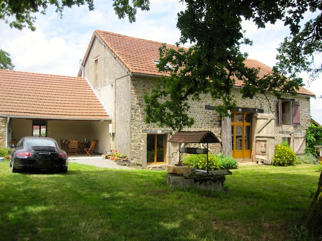 Tranquil converted barn with pool - Arnac-la-Poste - Casa