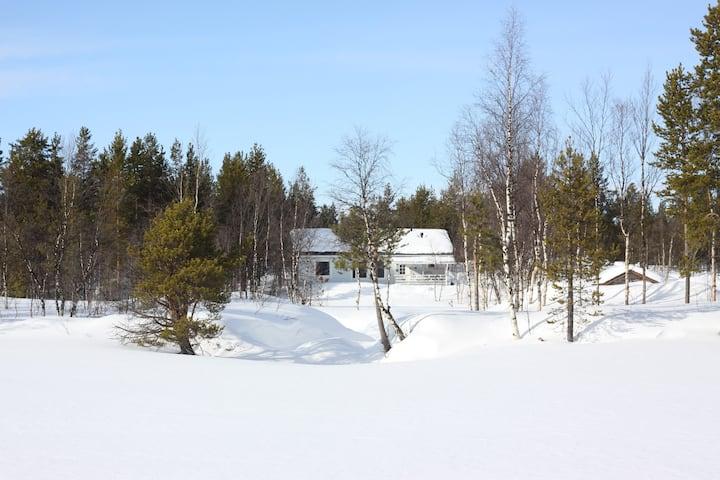 Cozy apartment near lake and Hetta village