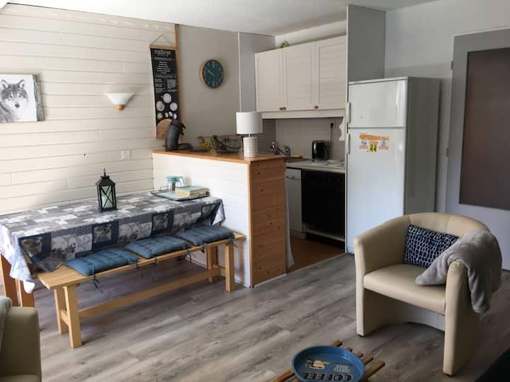 Appartement + terrasse 6 personnes Abriès Queyras