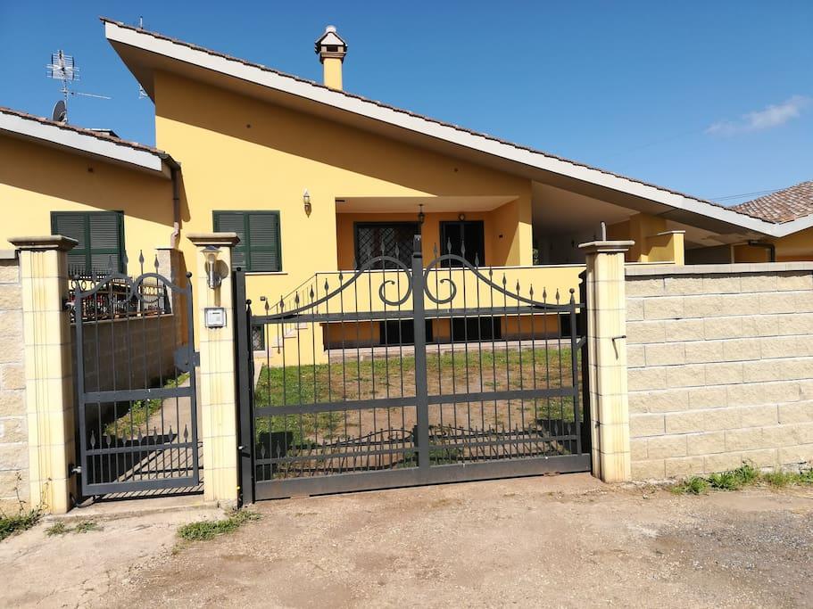 Villa Entrance,Ingresso Villa