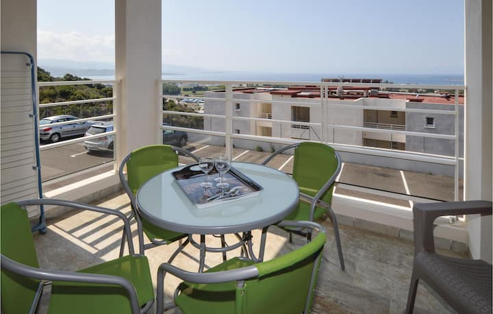 Stunning apartment in Ajaccio with WiFi and 1 Bedrooms