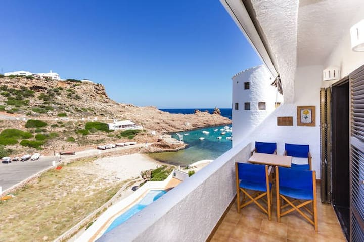 Great Seaview apartment - Cala Morell - Apartament