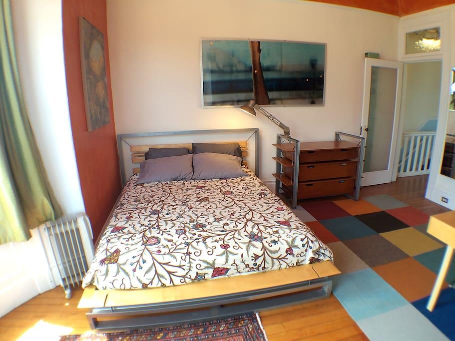 The mattress is a top of the line organic latex mattress.