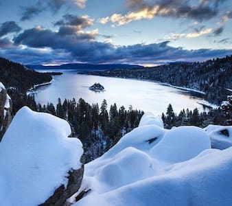 Christmas in Tahoe NV book it now! - Zephyr Cove-Round Hill Village